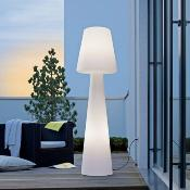 Lampara de Pie para Exterior o Interior NEW GARDEN modelo: LOLA Luz LED fria Color: Blanco