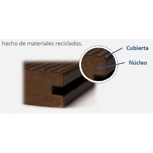 Fachada imitacion madera ultrashield en plastico new tech wood - Imitacion madera para fachadas ...