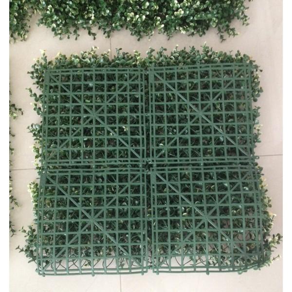Muro verde follaje artificial plantas arboles flores for Plastico para lagunas artificiales