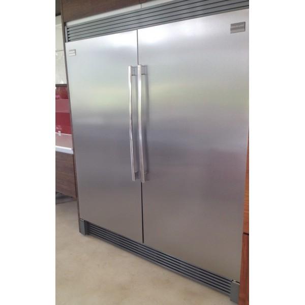 Combo Pareja Refrigerador Congelador Y Trim Frigidaire