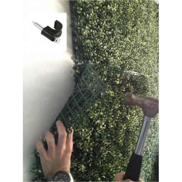 Muro verde follaje artificial plantas arboles flores for Diseno de muros verdes