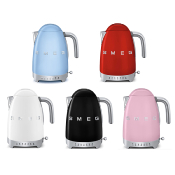 Hervidor Smeg 1500w, 1.7 Litros Temperatura Variable