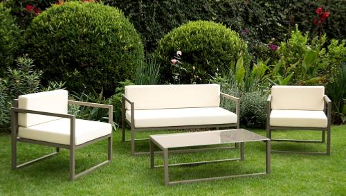 Cojines para sillones de jardin free sillon jardin for Sillones para jardin exterior